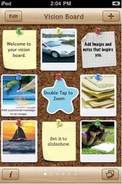 Vision Board app