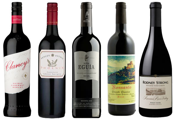 hosting wines- red wine suggestions