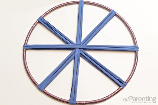 Hula hoop rug step 3