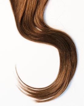 Woman long, shiny hair
