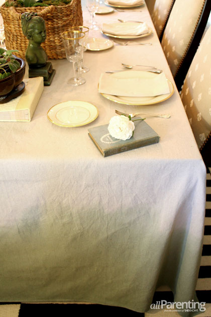 allParenting ombre tablecloth
