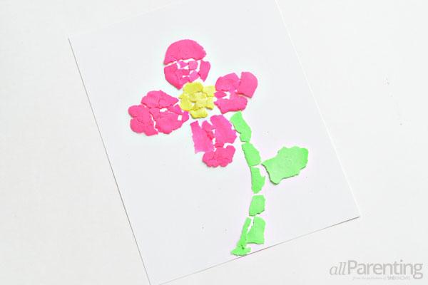 allParenting Play Doh mosaic art