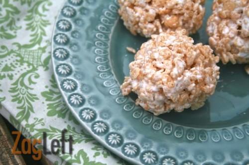 Joanie Zisk- rice krispie treat for one