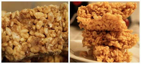 Kristen toblerone and pumpkin rice krispie treats