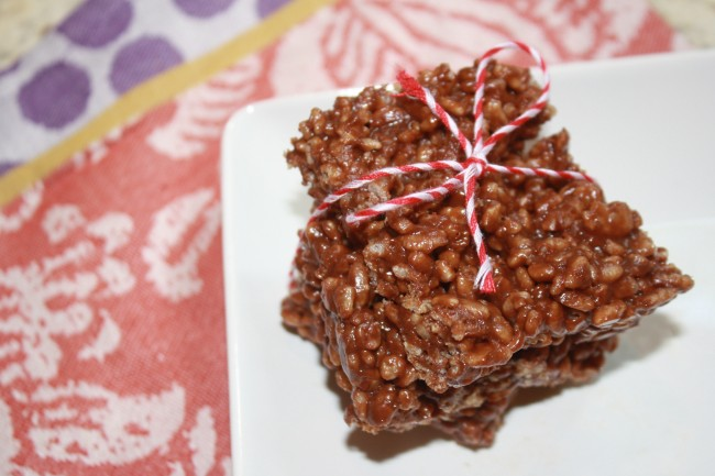Lauren Kelly- rice krispie treats