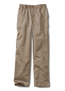 Little Boys' Iron Knee® Elastic Waist Blend Chino Pants