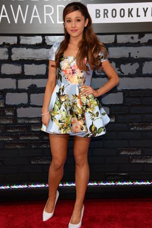 Ariana Grande at the 2013 MTV VMAs
