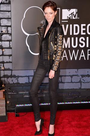 Coco Rocha at the 2013 MTV VMAs