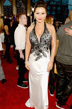 JWoww at the 2013 MTV VMAs