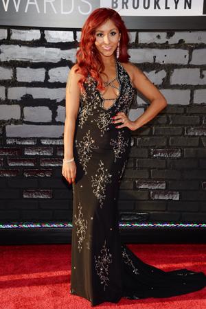 Snooki at the 2013 MTV VMAS