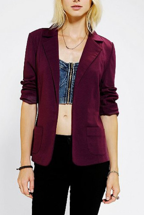 Colorful blazer from Urban Outfitters