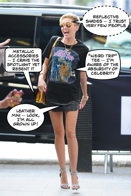 What these celebrity outfits really reveal