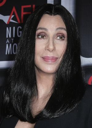 Cher shows her teeth when Gaga duet leaks