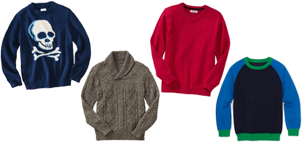 Cozy fall sweaters for boys