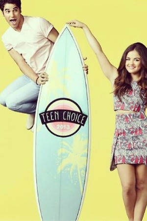 Darren Criss and Lucy Hale to co-host 2013 Teen Choice Awards