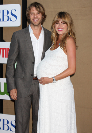 It's a boy for NCIS star Eric Christian Olsen David Wright Married