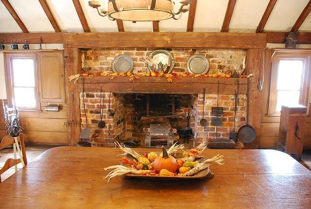 Fall kitchen color schemes