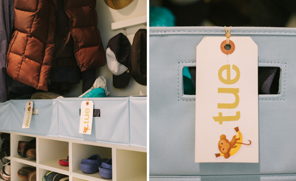 Organize with tags