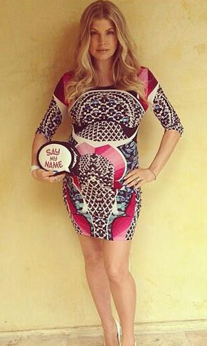 Pregnant Fergie