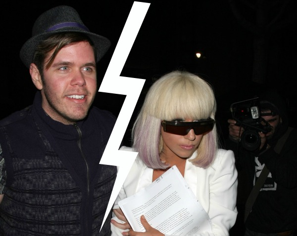 Lady Gaga and Perez Hilton