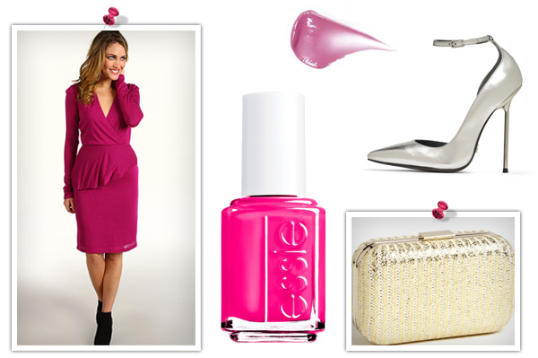 Get the look: Christa B Allen's pink dress