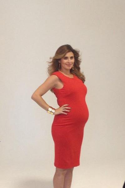Pregnant Jamie Lynn Sigler