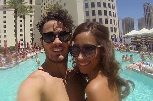Kevin Jonas and pregnant Danielle Jonas