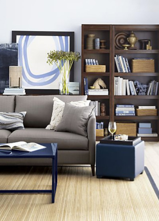 Klyne Apartment Sofa (Crate & Barrel, $1,099)