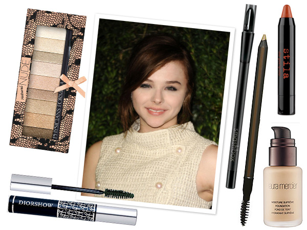 Celebrity makeup profile: Chloe Grace Moretz -- nude
