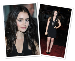 Get Lily Collins' smokey sister makeup look