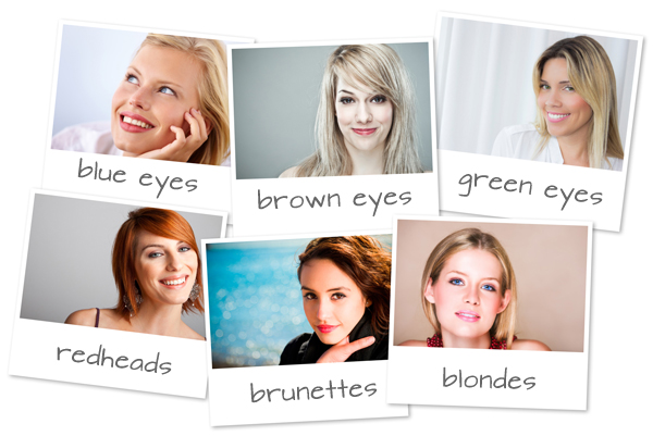 Best makeup colors for women with brown and black hair