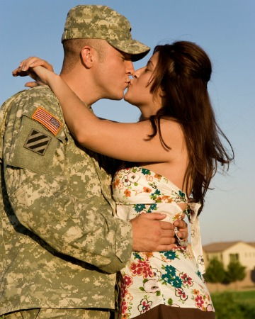 Stresses of military marriage