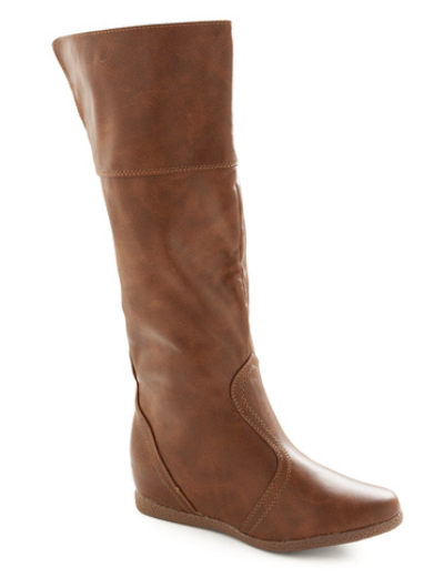 Brown boots from ModCloth