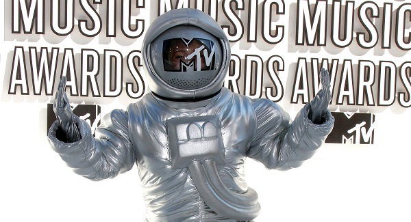 MTV VMA Moonman