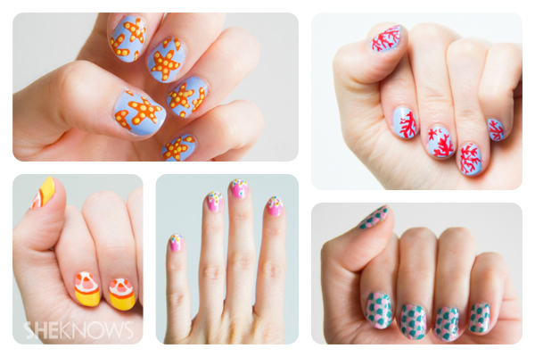 Go under the sea with these nails!
