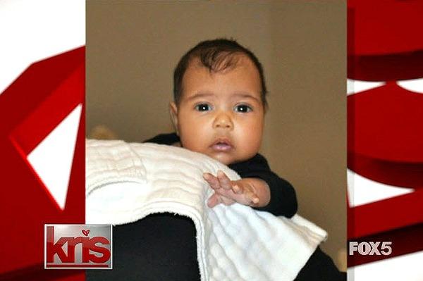 Kim Kardashian's baby revealed