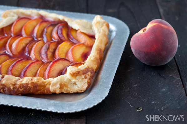 Simple and elegant summer tart