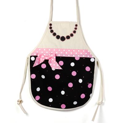 Polka-dot DIY apron