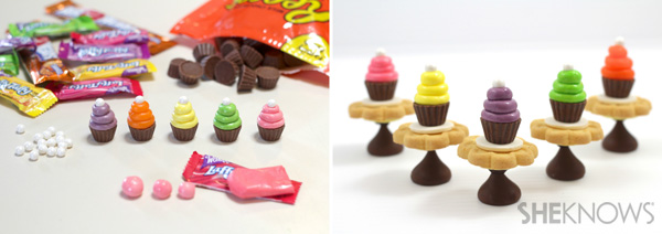Tiny candy cupcakes | SheKnows.com