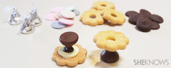 Fancy finger food desserts
