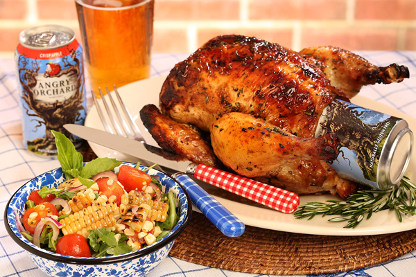 Sweet & savory recipes using Angry Orchard hard apple cider