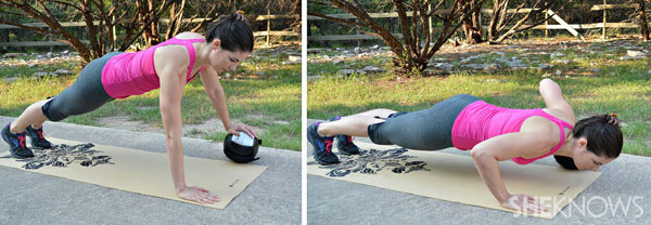 split pushup | SheKnows.com