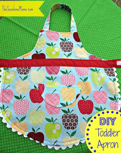 Toddler DIY apron