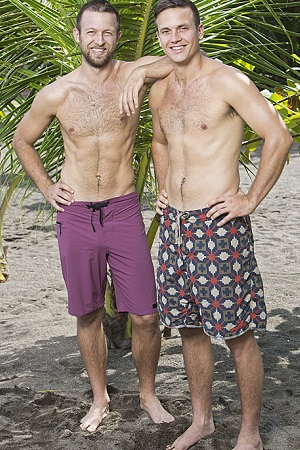 Survivor: Blood vs. Water Aras and Vytas