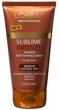 L'Oreal Sublime Bronze Pearl Tinted Lotion