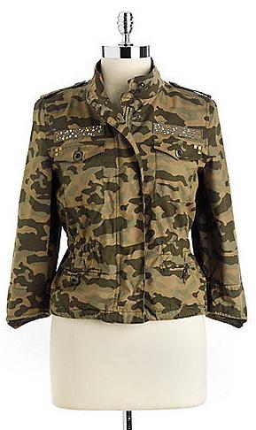 JOLT Studded Camouflage Jacket$29