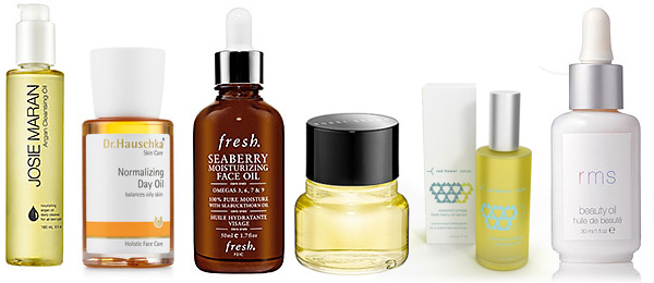Facial oil product picks