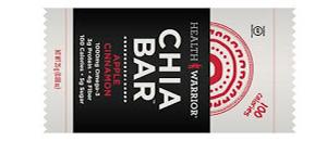 Health Warrior Chia Bars Apple Cinnamon