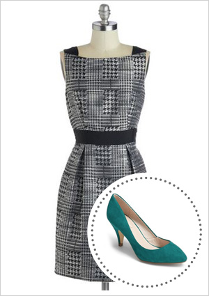 Dresses and shoes for fall