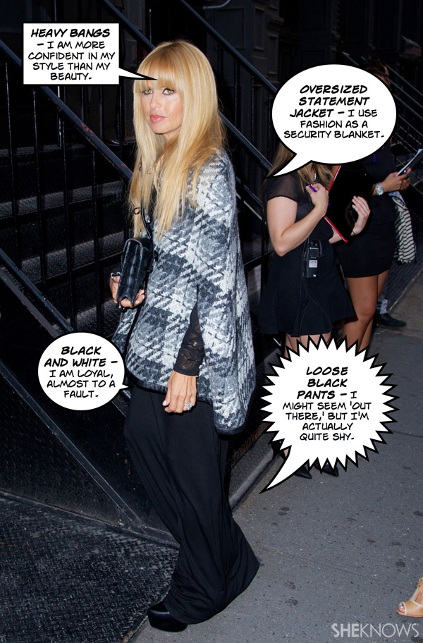 What does Rachel Zoe's fall outfit mean?